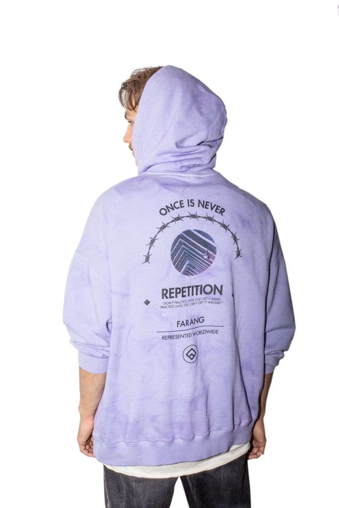 REPETITION - HOODIE - PURPLE