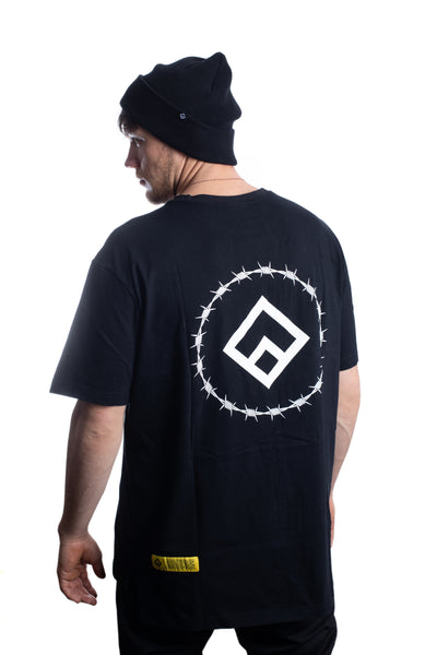 WIRE - TEE - BLACK