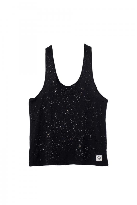SPACE - TANKTOP - (BLACK)