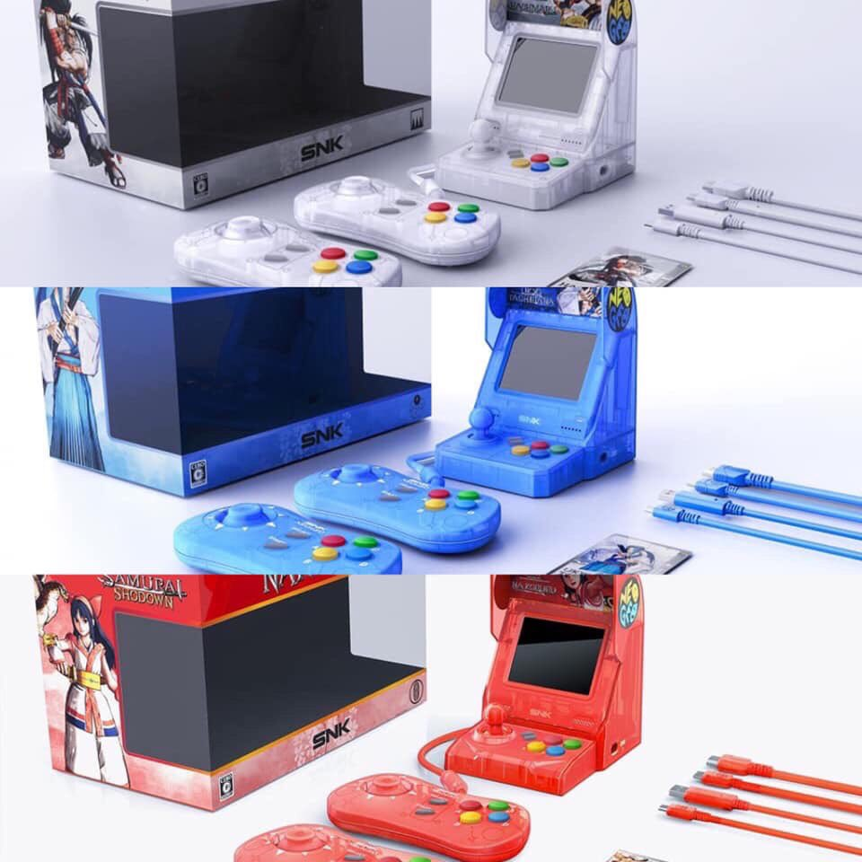 All About the NeoGeo Mini Samurai Spirits Limited Edition Consoles!