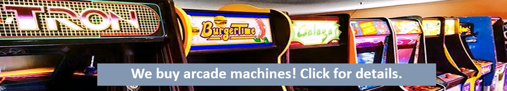 We buy arcade machines!