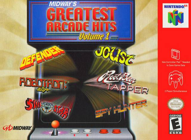 Midway's Greatest Arcade Hits Vol 1 (Nintendo 64) (Pre-Played - Game Only)