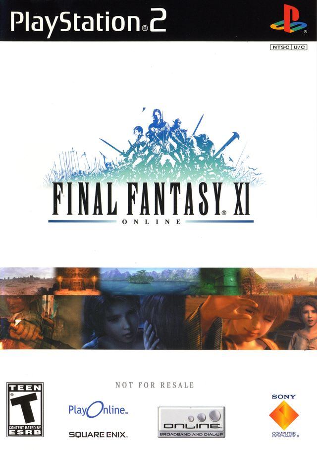 Final Fantasy XI Chains of Promathia (Playstation 2) (Pre-Played - CIB - Very Good)
