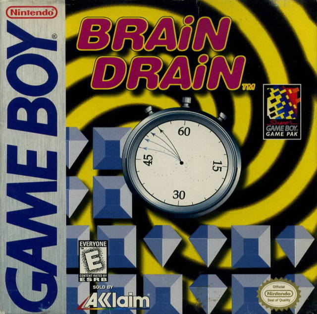 Brain Drain (Gameboy) (Pre-Played - Game Only)