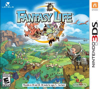 Fantasy Life (Nintendo 3DS) (Pre-Played - CIB - Good)