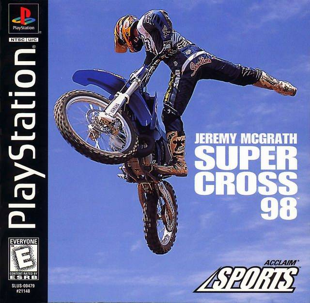 Jeremy McGrath Supercross 98 (Playstation) (Pre-Played - Game Only)