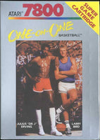 Julius Erving vs. Larry Bird One-on-One Basketball (Atari 7800) (Pre-Played - Game Only)