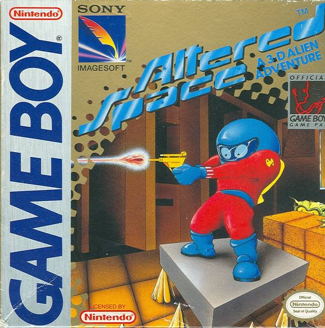 Altered Space A 3-D Alien Adventure (Gameboy) (Pre-Played - Game Only)