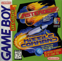 Arcade Classic Asteroids Missile Command (Gameboy) (Pre-Played - Game Only)