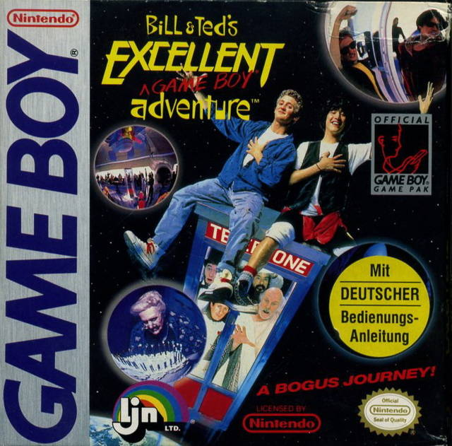 Bill and Ted's Excellent Adventure (Gameboy) (Pre-Played - Game Only)
