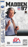 Madden 97 (Sega Saturn) (Pre-Played - CIB - Good)