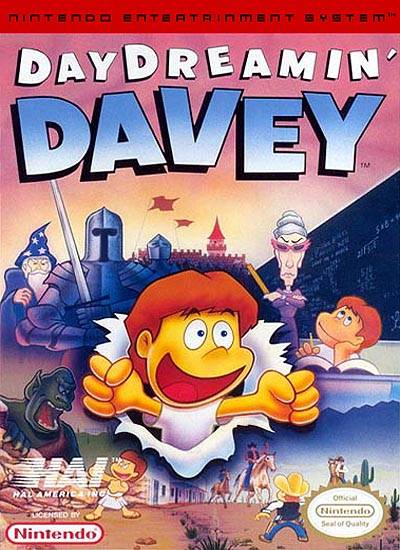 Day Dreamin Davey (Nintendo NES) (Pre-Played - Game Only)