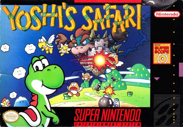 Yoshi's Safari (Super Nintendo) (Complete - Good)