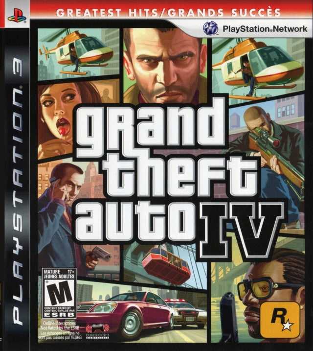 Grand Theft Auto IV (Greatest Hits) (Playstation 3) (Pre-Played - Game Only)