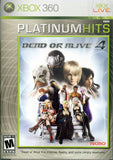Dead or Alive 4 (Xbox 360) (Complete - Good)