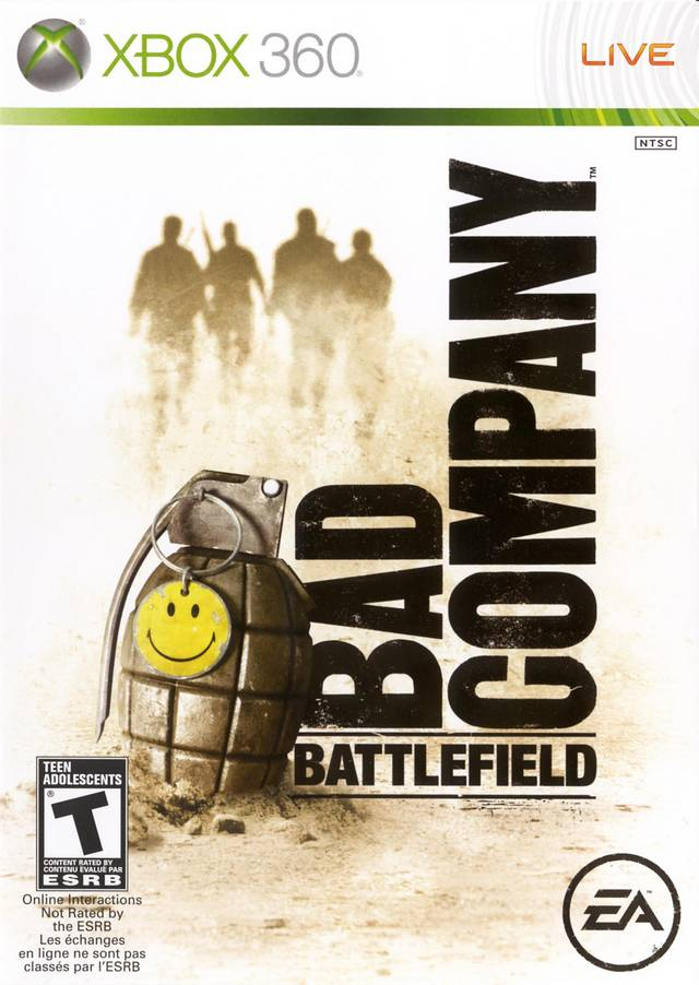Battlefield Bad Company (Xbox 360) (Complete - Good)