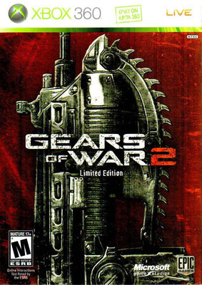 Gears of Wars 2 Limited Edition (Xbox 360) (Pre-Played - CIB - Good)