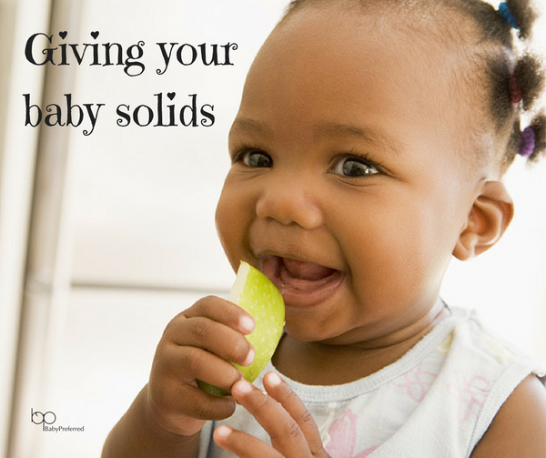 Giving your baby solids