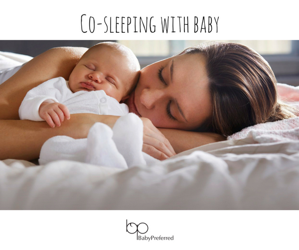Benefits of Co-sleeping with your Baby