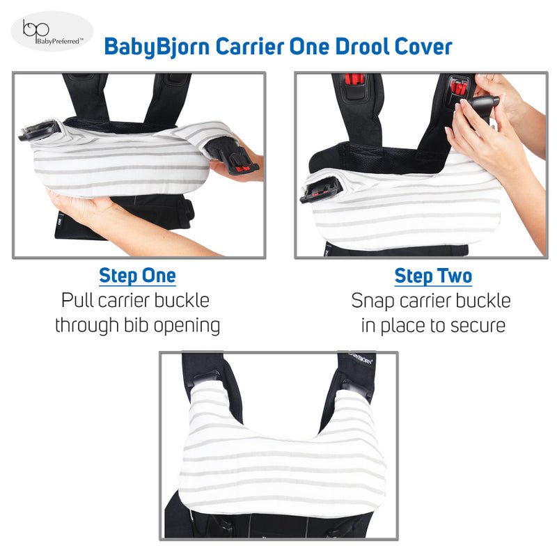 Baby Preferred® Drool and Teething Cover Designed to fit BabyBjörn® Carrier One