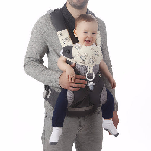 baby preferred universal baby carrier cover front view - Carrier Cover