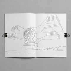 The Brutalist Coloring Book Brutalism