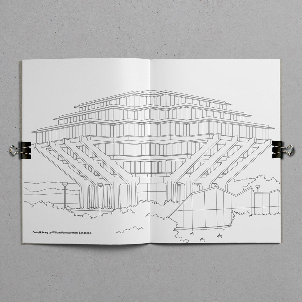 The Brutalist Colouring Book - add color to concrete – TM/shop