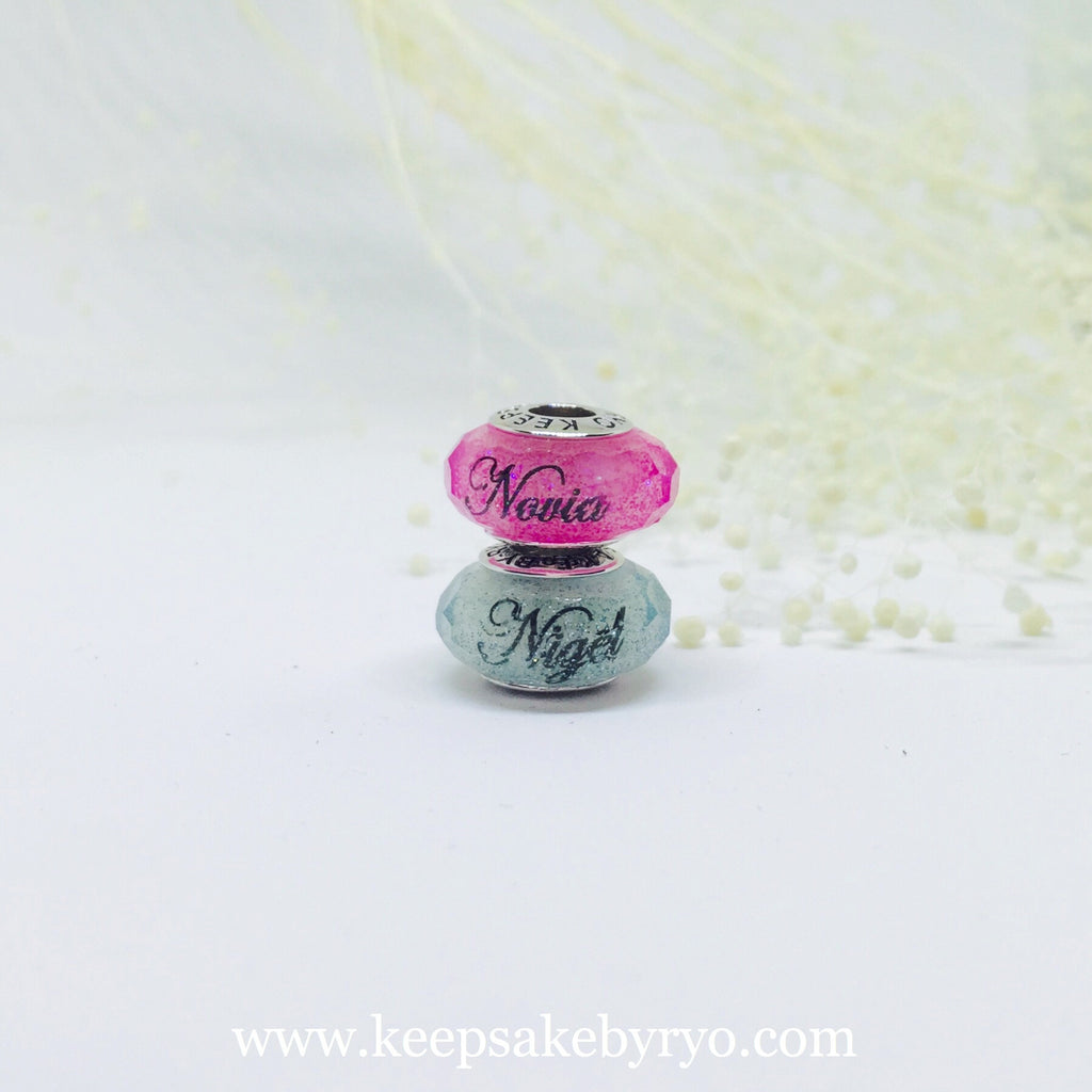 BREASTMILK CHARM WITH SHIMMER