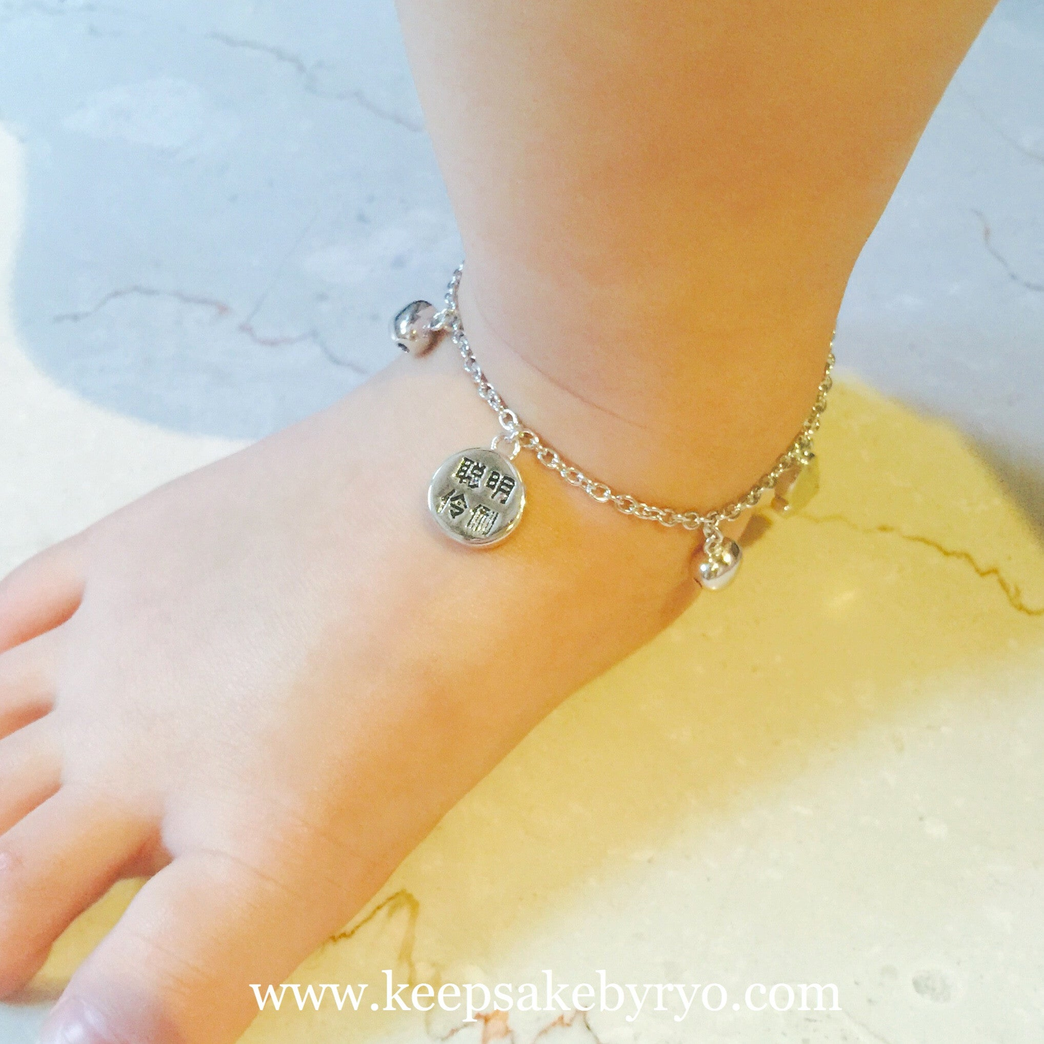 jewelry heart silver wedding sa anklets simple real fine for gifts pin women anklet silverage sterling