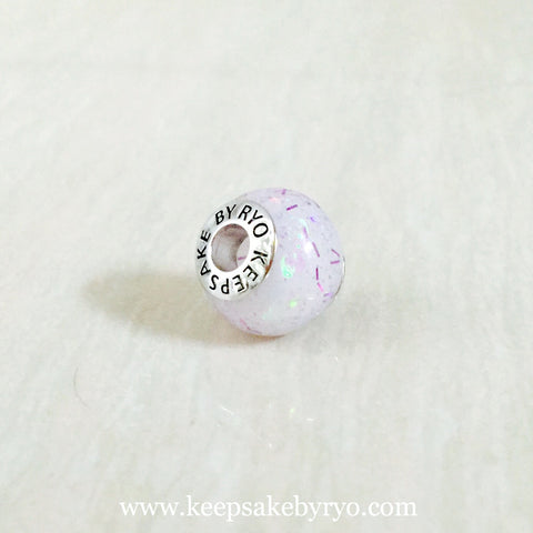 BREASTMILK CHARM WITH LILAC MIX