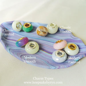 RAINBOW EUROPEAN CHARM WITH HAIRCURL