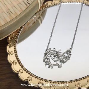 Engraved by Ryo: Doodle Necklace