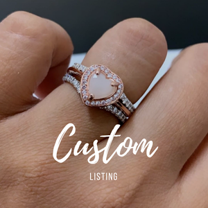 Custom 18K Ring for Bettina