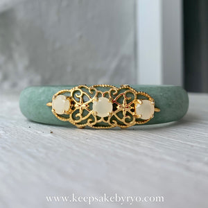 JADE BY RYO: MAYA JADE BANGLE