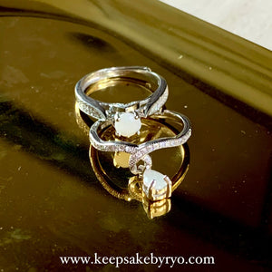 SOLITAIRE 18K: INAZ BREASTMILK RING