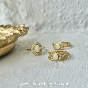 SOLITAIRE: DELACROIX BREASTMILK RING