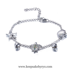 SEA TREASURES BREASTMILK ANKLET