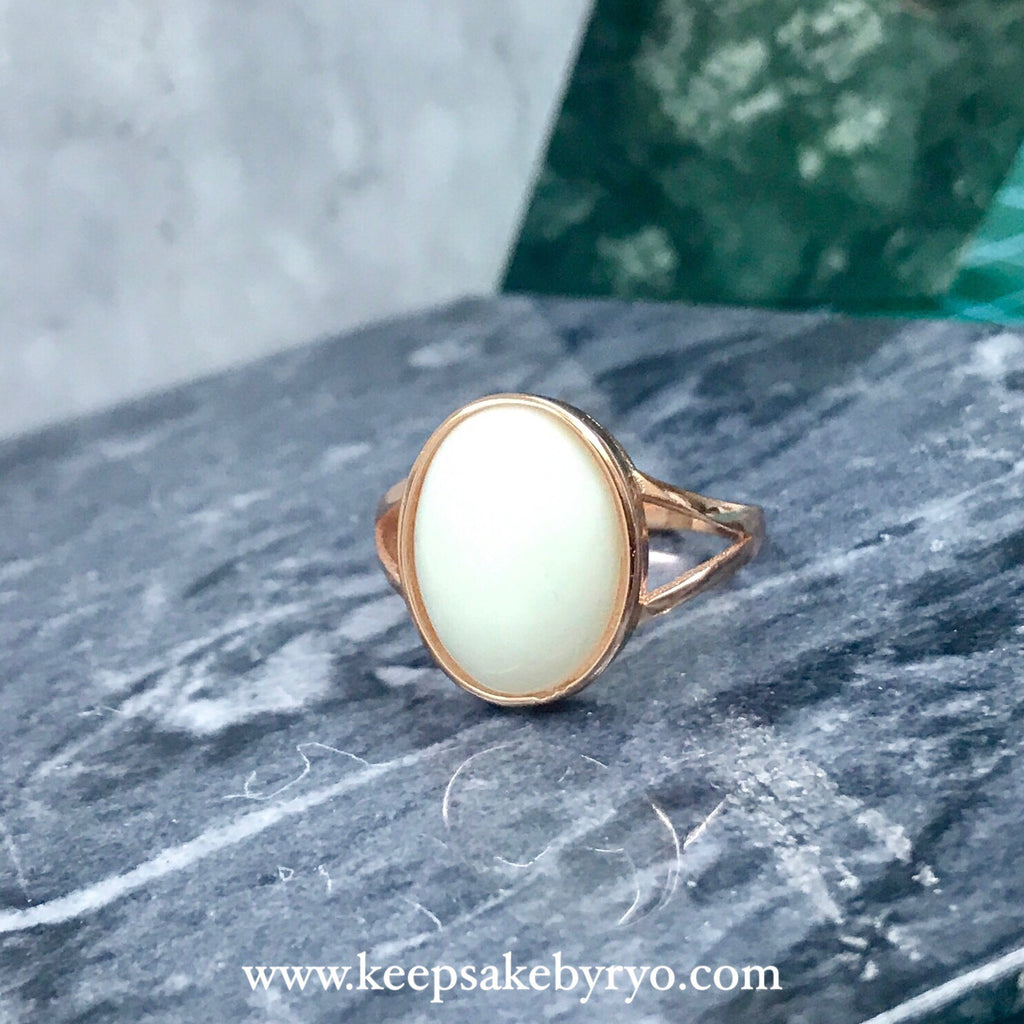 Chunky Oval Ring