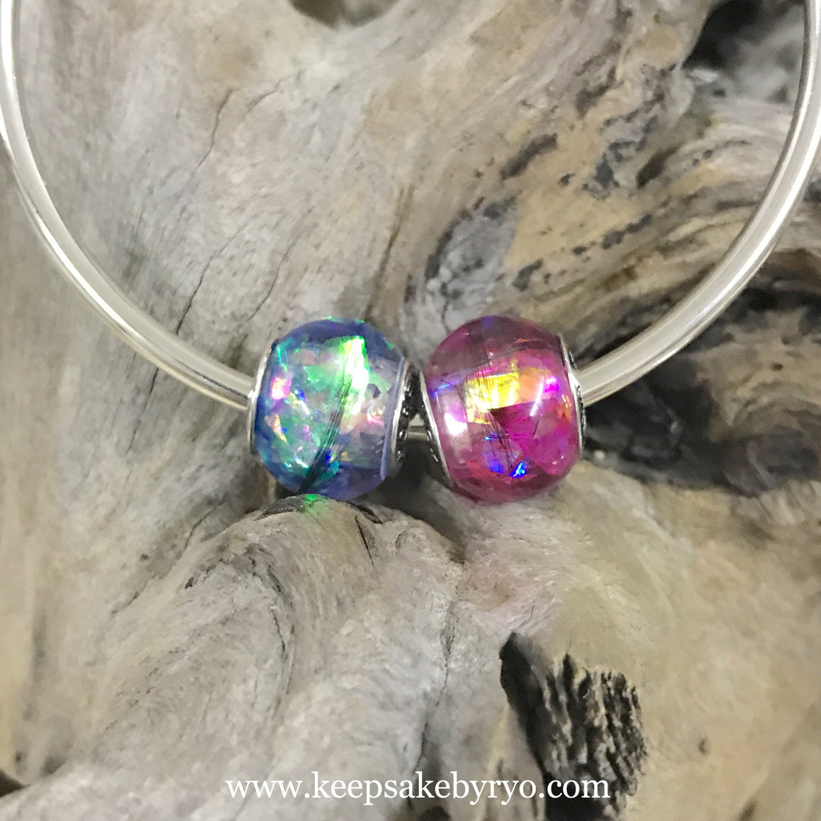 HOLOGRAPHIC FLAKES HAIRCURL EUROPEAN CHARM