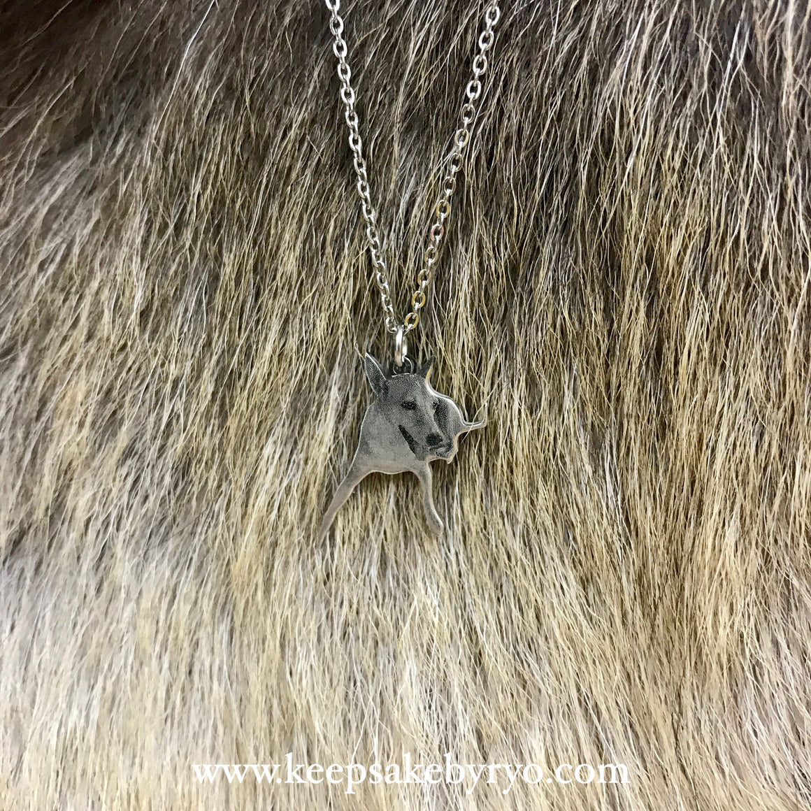 Engraved by Ryo: Fur Baby Photo Necklace