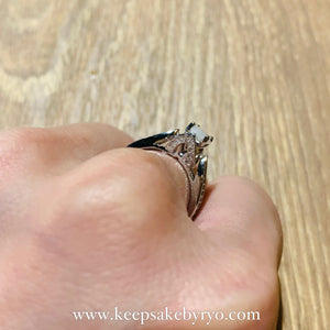 SOLITAIRE: ETTA BREASTMILK RING