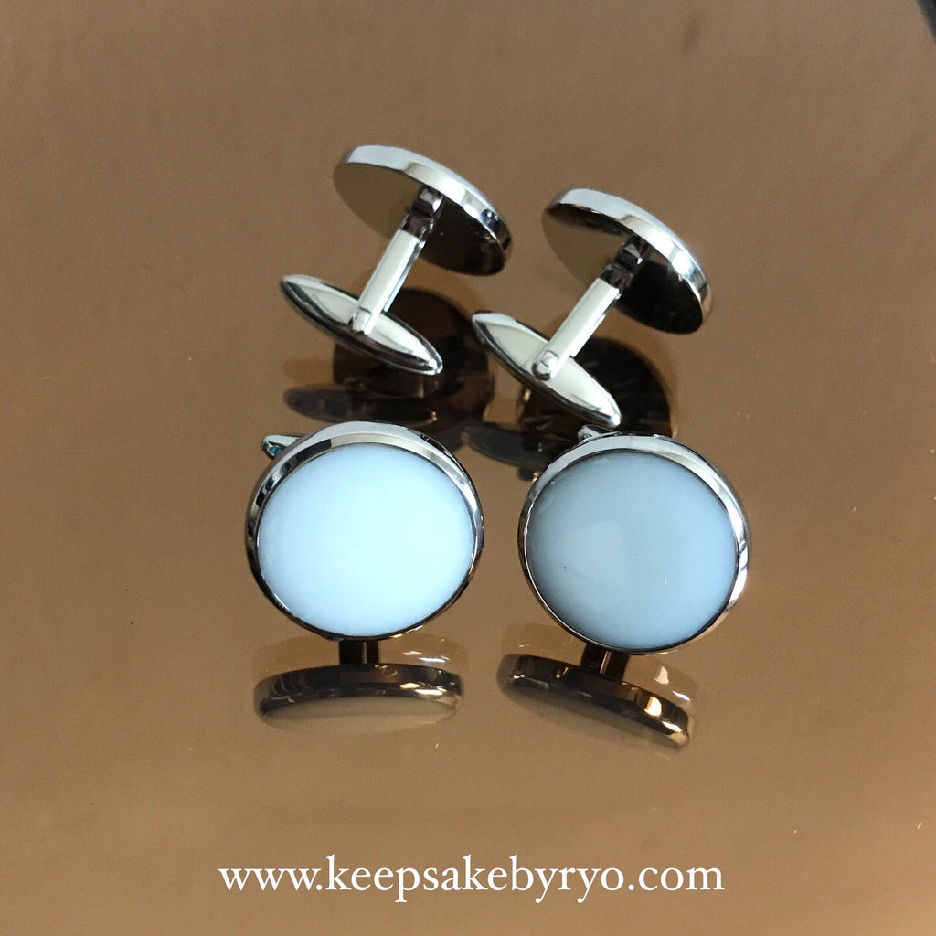 PURE MILK CUFFLINKS