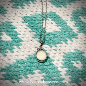 BRIANA DAINTY LOCKET NECKLACE