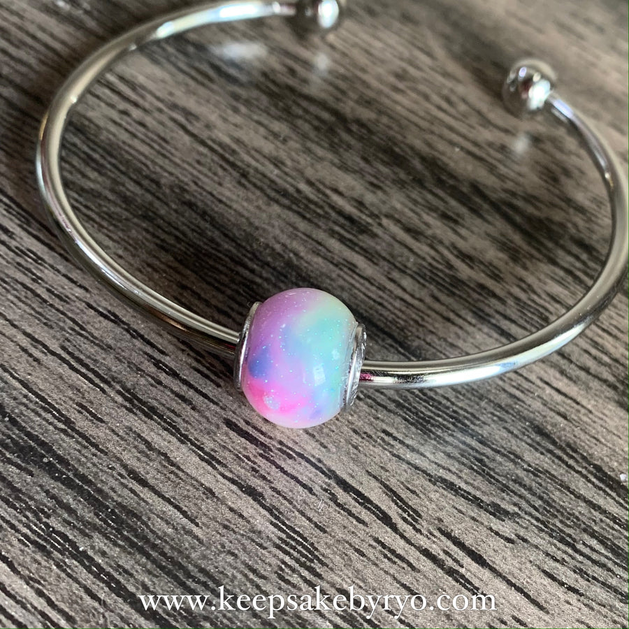 PSYCHEDELIC MERMAID GLOW IN THE DARK BREASTMILK EUROPEAN CHARM