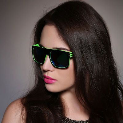 2016 Designer Fashion Retro Vintage Stylish Women Frame Sunglasses _ 5823