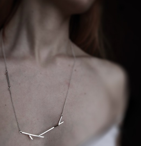 Branches Minimalist Stylish Fashion Necklace Jewelry