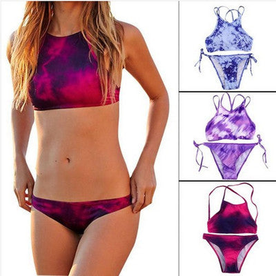 Floral Printed Sexy Erotic Sexy Bikini Swim Suit Beach Bathing Suits _ 1433