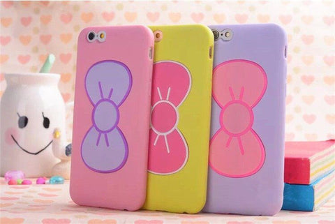 Bow-knot Rosette iPhone Case and Phone Stand for iPhone 6/6plus