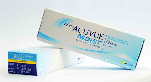 1 DAY ACUVUE MOIST FOR ASTIGMATISM 30pc