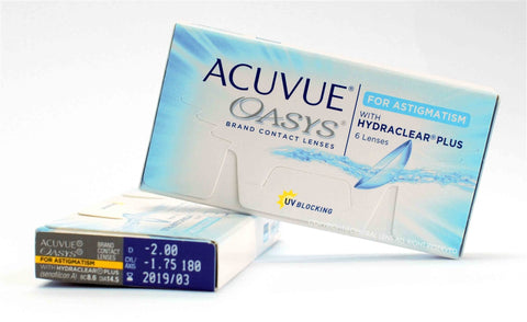 ACUVUE OASYS FOR ASTIGMATISM 6pc (3MONTHS)